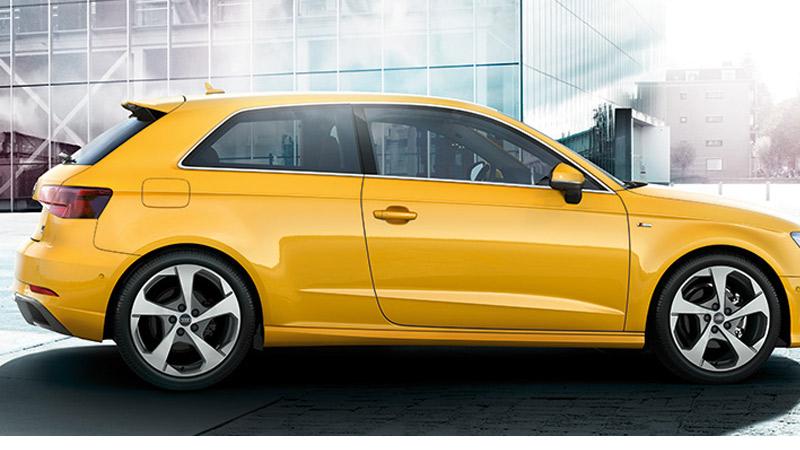 Nuevo Audi A3. Pulsa Start