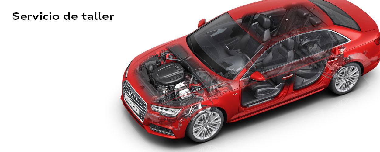 Servicio de taller de Audi Center Zaragoza