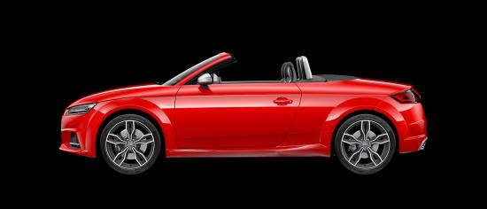 Audi TTS Roadster en Audi Center Zaragoza