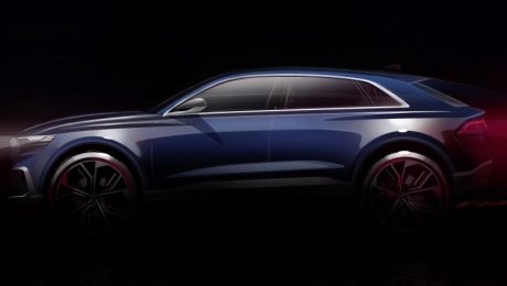 Audi Q8 Concept lateral