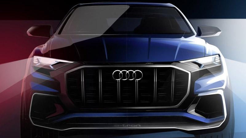Audi Q8 concept se presenta en Detroit