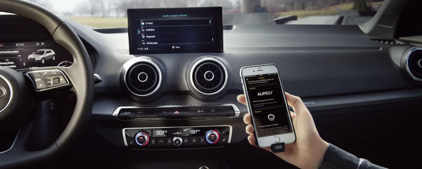 Gracias a myAudi y a los servicios de Audi connect, tu viaje con Audi será más cómodo, seguro y eficiente