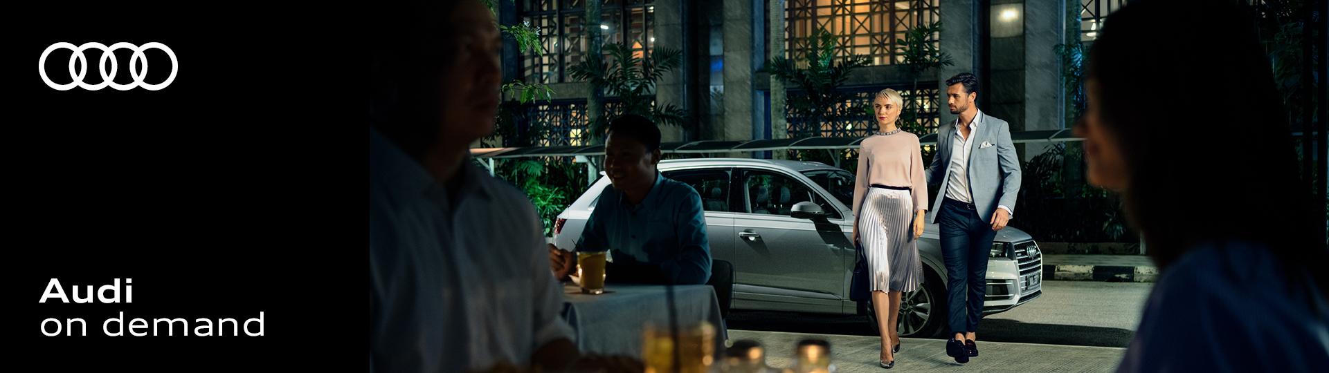Audi-on-demand